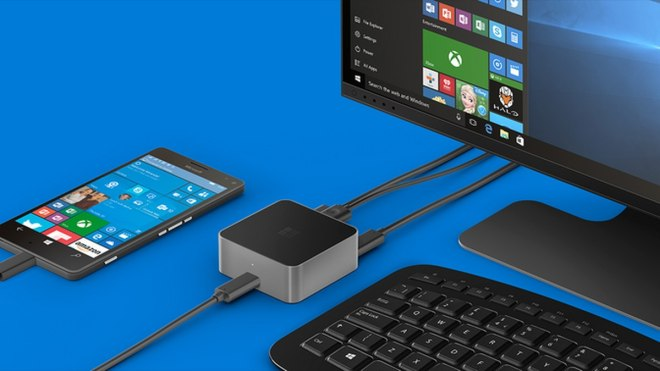 Funkcja Continuum w Windows 10 Mobile