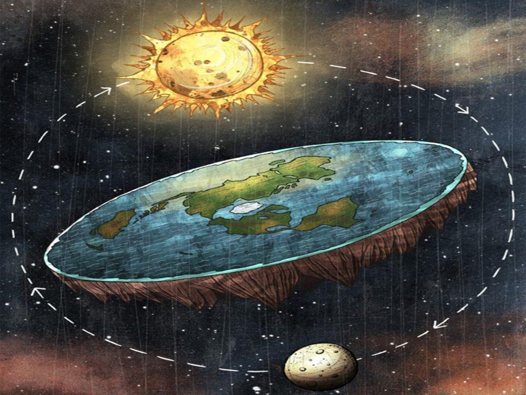 Wyp³yn± w morze by udowodniæ, ¿e Ziemia nie jest okr±g³a