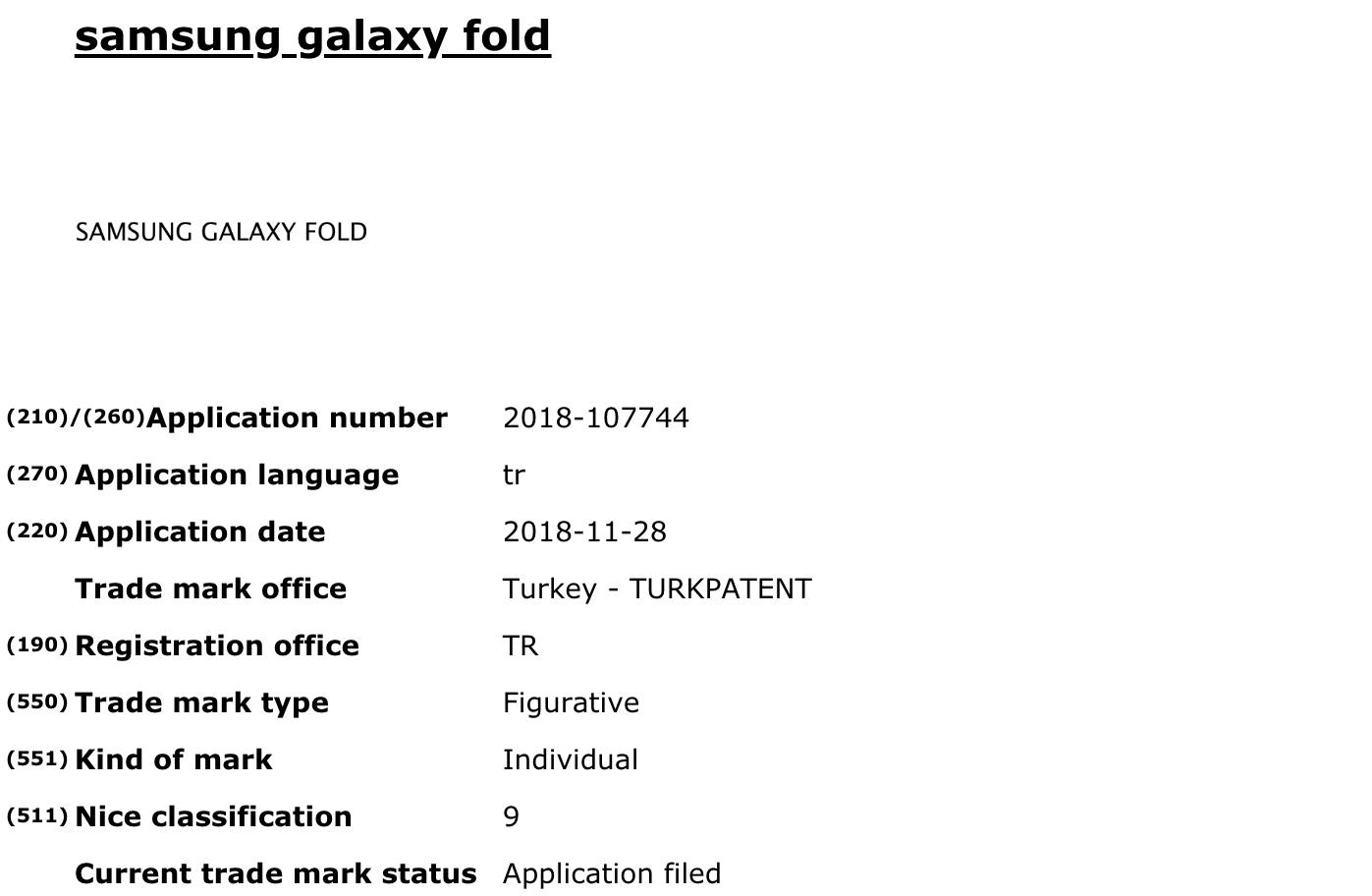 Sk³adane urz±dzenie Samsunga mo¿e nazywaæ siê Galaxy Fold