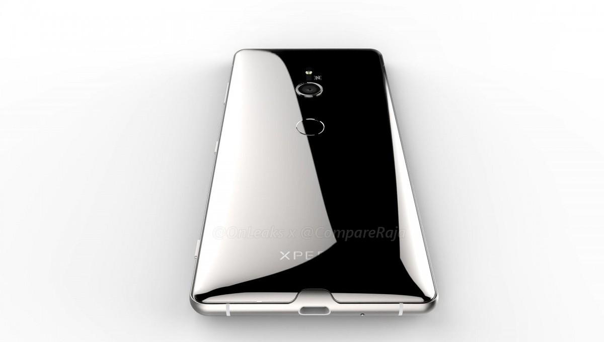 Trójwymiarowe rendery Sony Xperia XZ3