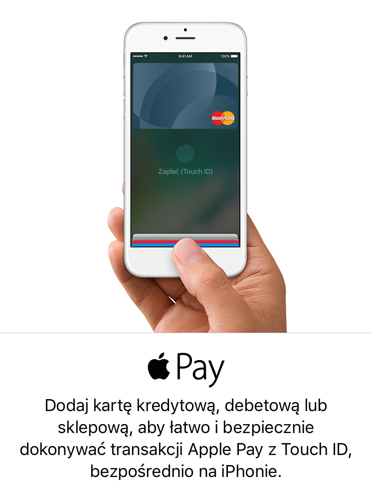 Apple Pay ju¿ w Polsce
