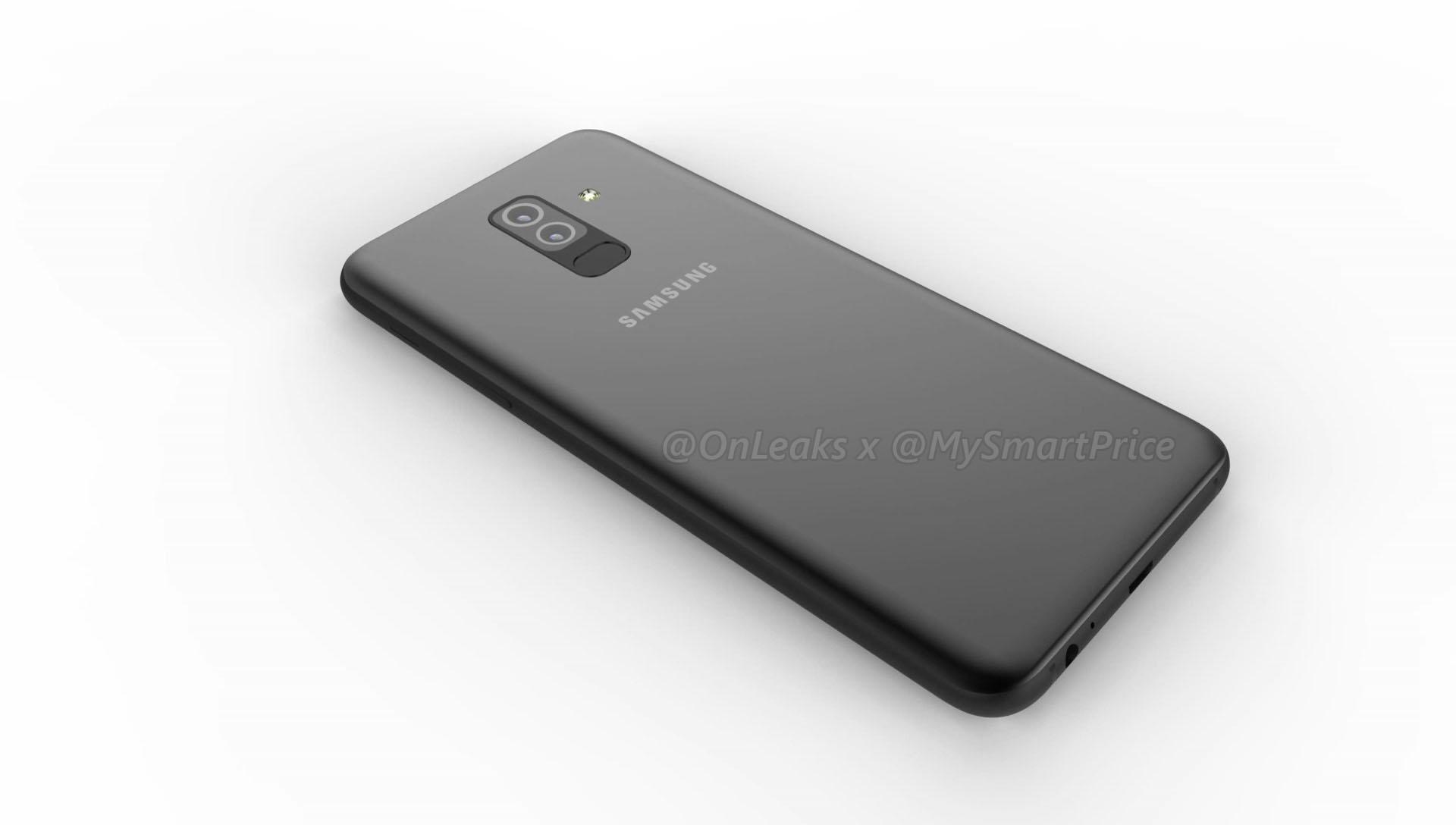 Wysz³y nieoficjalne rendery Samsung Galaxy A6 i A6 Plus