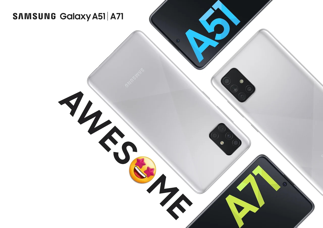 Samsung Galaxy A51 i Galaxy A71 w nowym wariancie kolorystycznym