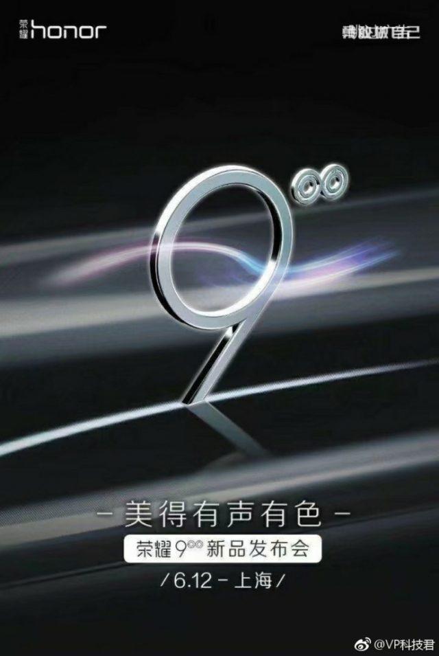 Huawei Honor 9 zostanie ods³oniêty 12-go czerwca
