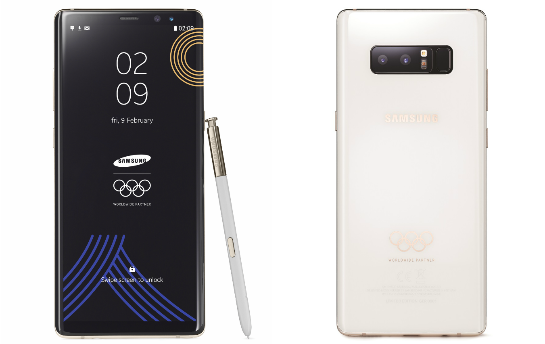 Samsung Galaxy Note 8 Olympic Games Limited Edition, czyli ³adny telefon z okazji olimpiady