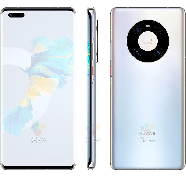 Wyciek³y rendery i specyfikacja Huawei Mate 40 Pro