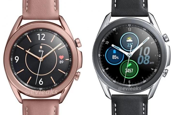 Samsung Galaxy Watch 3, nowe rendery