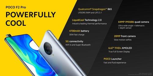 Xiaomi POCO F2 Pro oficjalnie zaprezentowany. Cena, specyfikacja