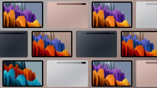 Wyciek³y rendery prasowe i specyfikacja Samsung Galaxy Tab S7
