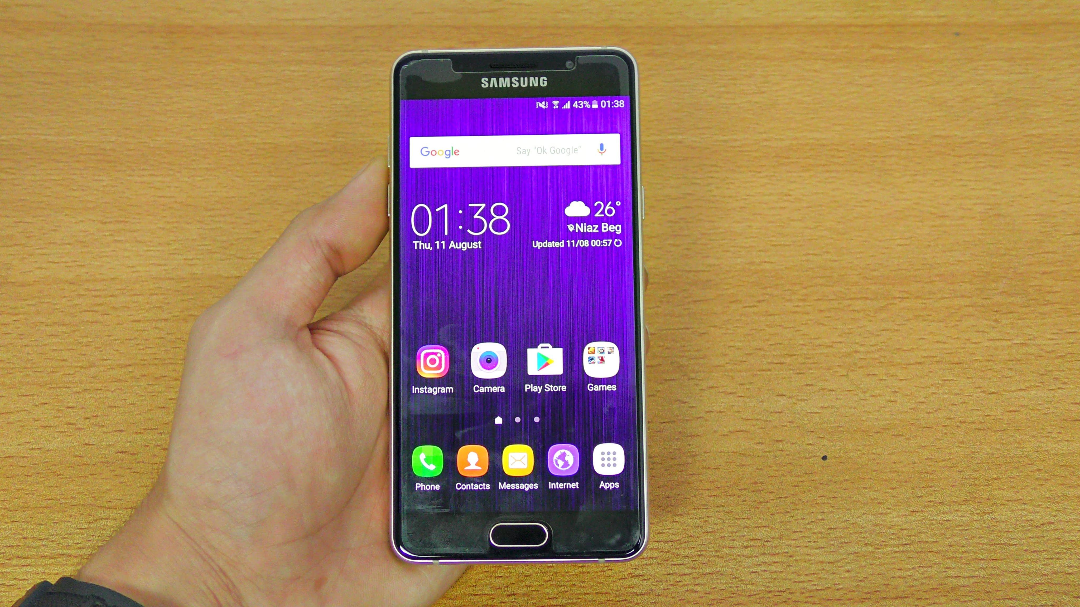 Samsung Galaxy A5 (2016) otrzymuje sierpniow± aktualizacjê zabezpieczeñ