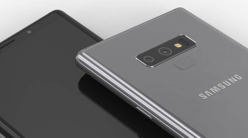 Nowe rendery Galaxy Note 9