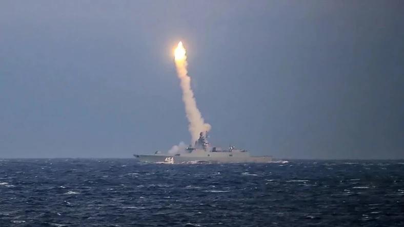 Rosjanie przeprowadzili udany test pocisku hipersonicznego Cyrkon. Rosyjska armia opublikowa³a nagranie