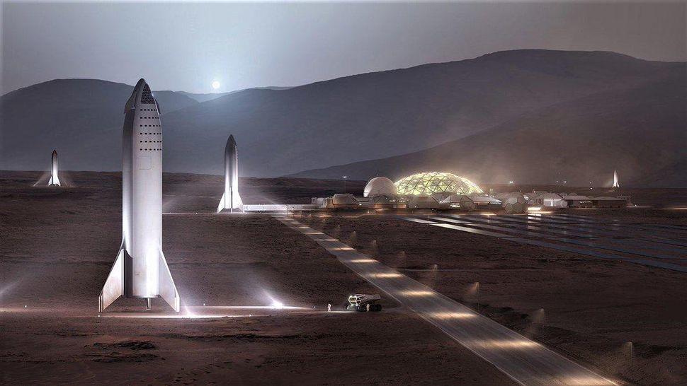 Elon Musk twierdzi, ¿e mo¿esz sprzedaæ swój dom, wzi±æ po¿yczkê z banku i zamieszkaæ na Marsie