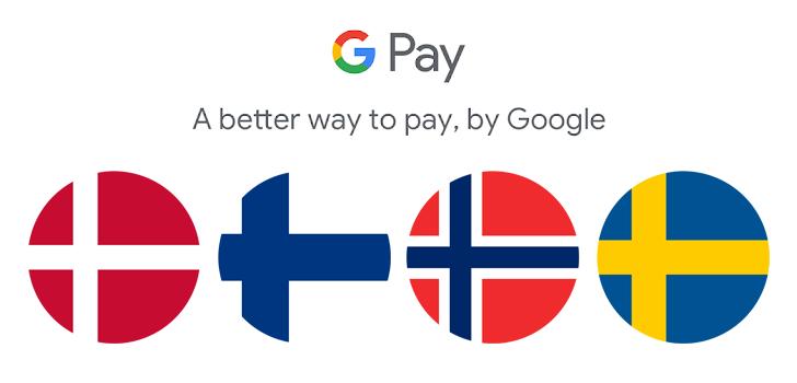 Google Pay od dzi¶ dostêpne w Norwegii, Finlandii, Danii i Szwecji