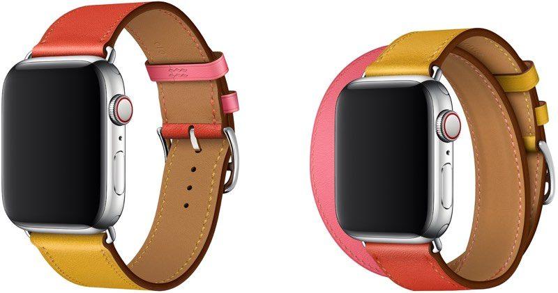 Apple wyda³o dwie nowe opaski na smartwatche, Single Tour i Double Tour Hermès
