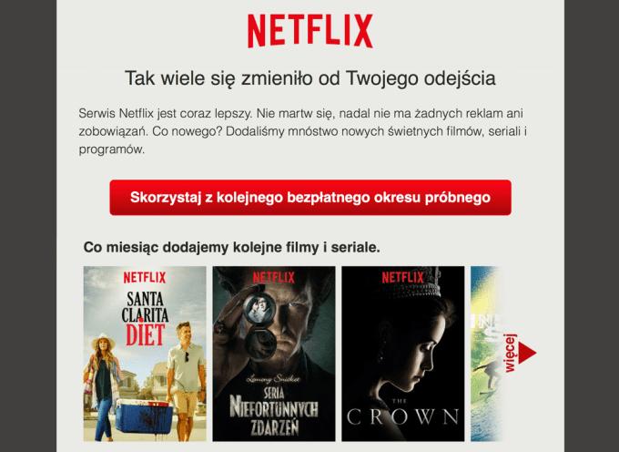 Netflix testuje koniec darmowych testów w Polsce