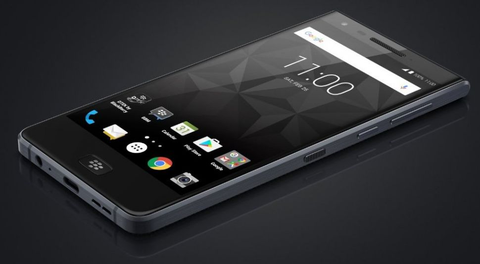 Wyciek³ render BlackBerry Motion. Wodoodporno¶æ, ekran dotykowy i inne