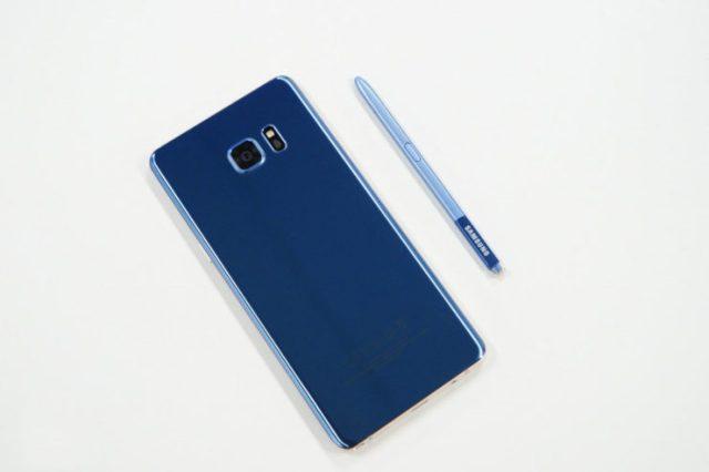 Wyciek³ nowy wariant kolorystyczny Galaxy Note 8, Deep Sea Blue