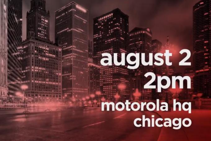 Motorola poprowadzi event w Chicago 2-go sierpnia. Mo¿e pokazaæ trzy nowe telefony