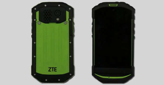 ZTE C501, wszystkoodporny smartfon pancerny