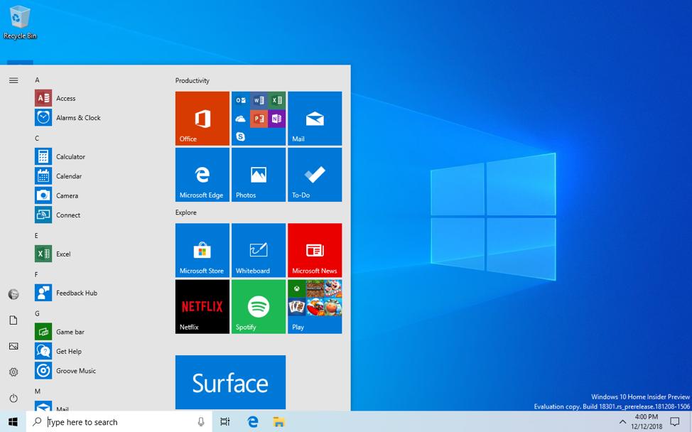 Opublikowana wersja testowa nowego Windows 10. Poprawki, ma³o zmian