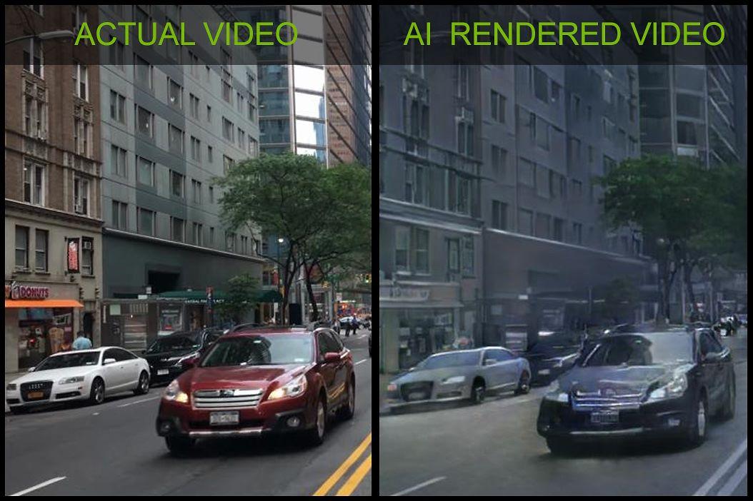NVidia stworzy³a nagranie na wierny render 3D