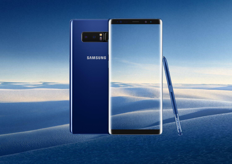 Wyciek³ wariant kolorystyczny Deepsea Blue dla Galaxy Note 9