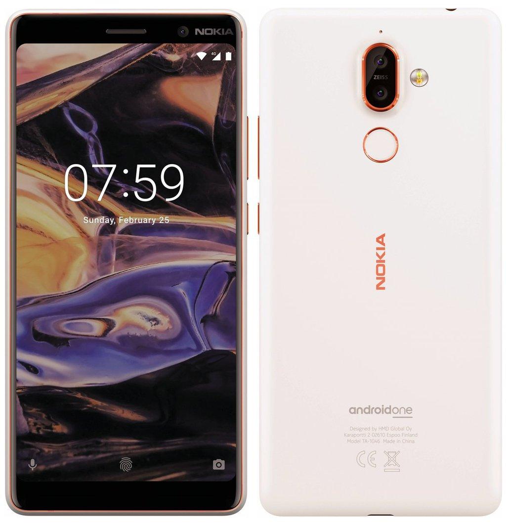 Nokia 7 Plus na zdjêciu