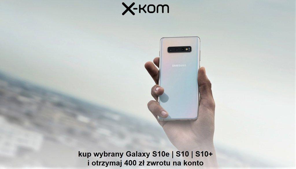 Trwa promocja na smartfon Samsung Galaxy S10e