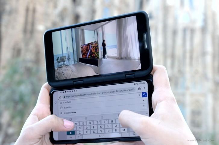 LG: telefon z podwójnym ekranem przed IFA 2019?