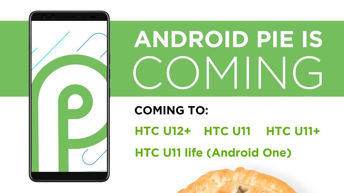Cztery smartfony HTC zostan± zaktualizowane do Androida 9 P