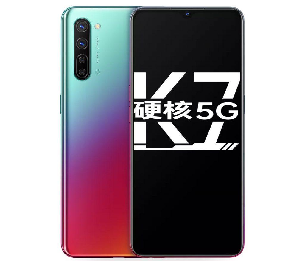 Oppo K7 5G ju¿ oficjalnie