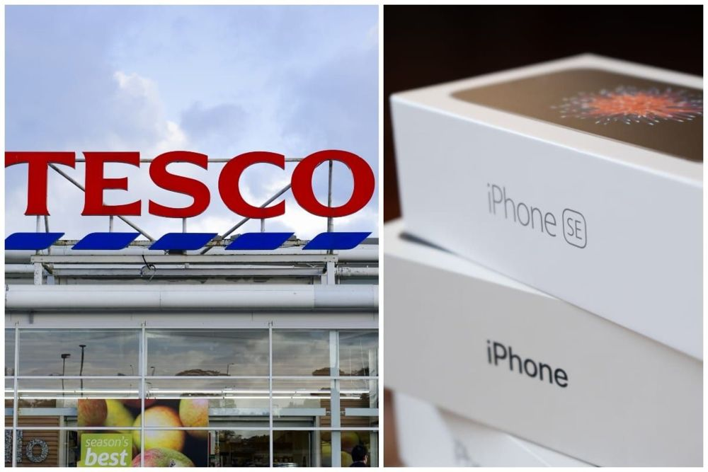 Tesco zachêca do zakupów online, zamiast jab³ek dostaniesz nowy iPhone
