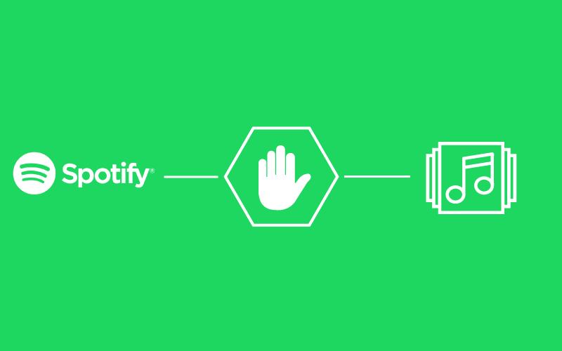 Spotify bêdzie blokowaæ konta u¿ytkowników AdBlock