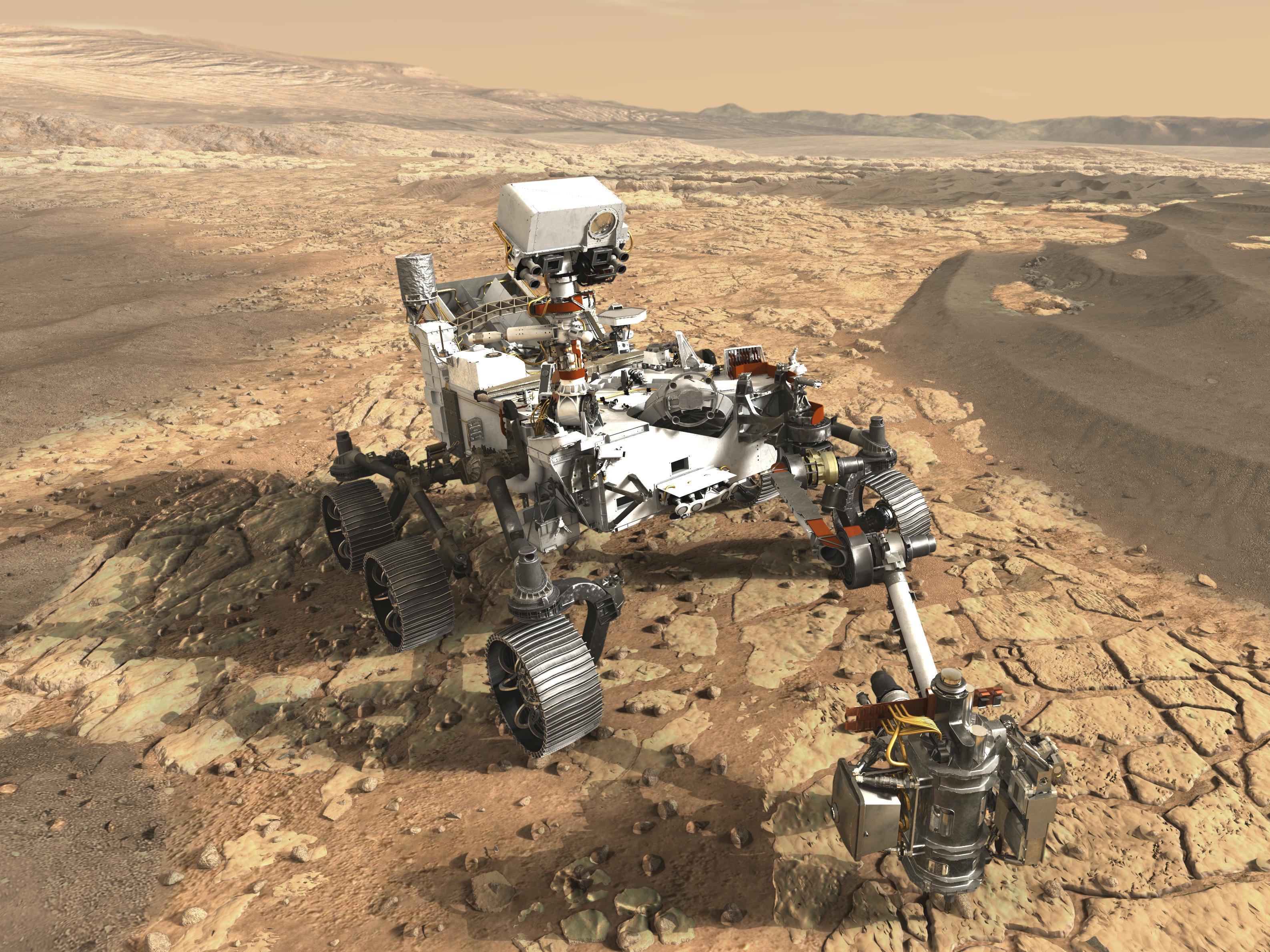£azik Mars 2020 przechodzi testy jazdy