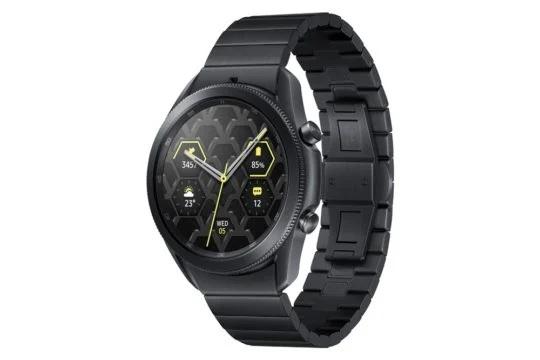 Smartwatch Galaxy Watch 3 Titanium od Samsung ma byæ oficjalnie wydane w ten pi±tek w Korei Po³udniowej