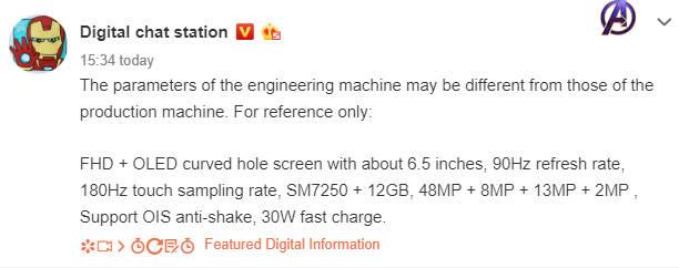 Wyciek³a specyfikacja smartfonu Oppo Reno 3 Pro 5G
