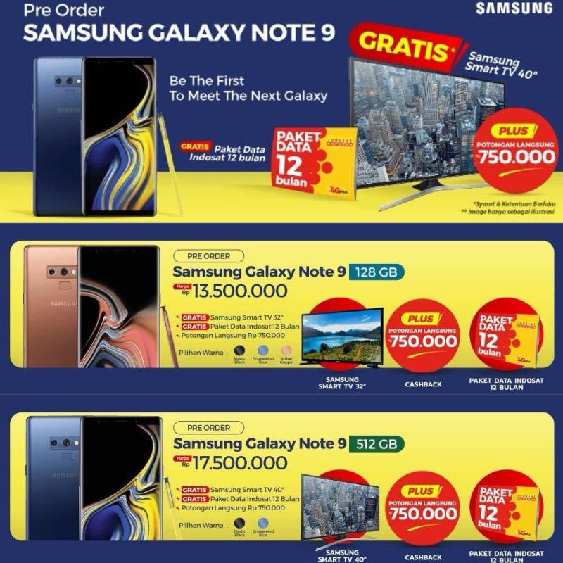 Wyciek³y ceny Samsung Galaxy Note 9