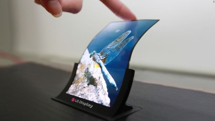 Sk³adane smartfony od LG i Huawei