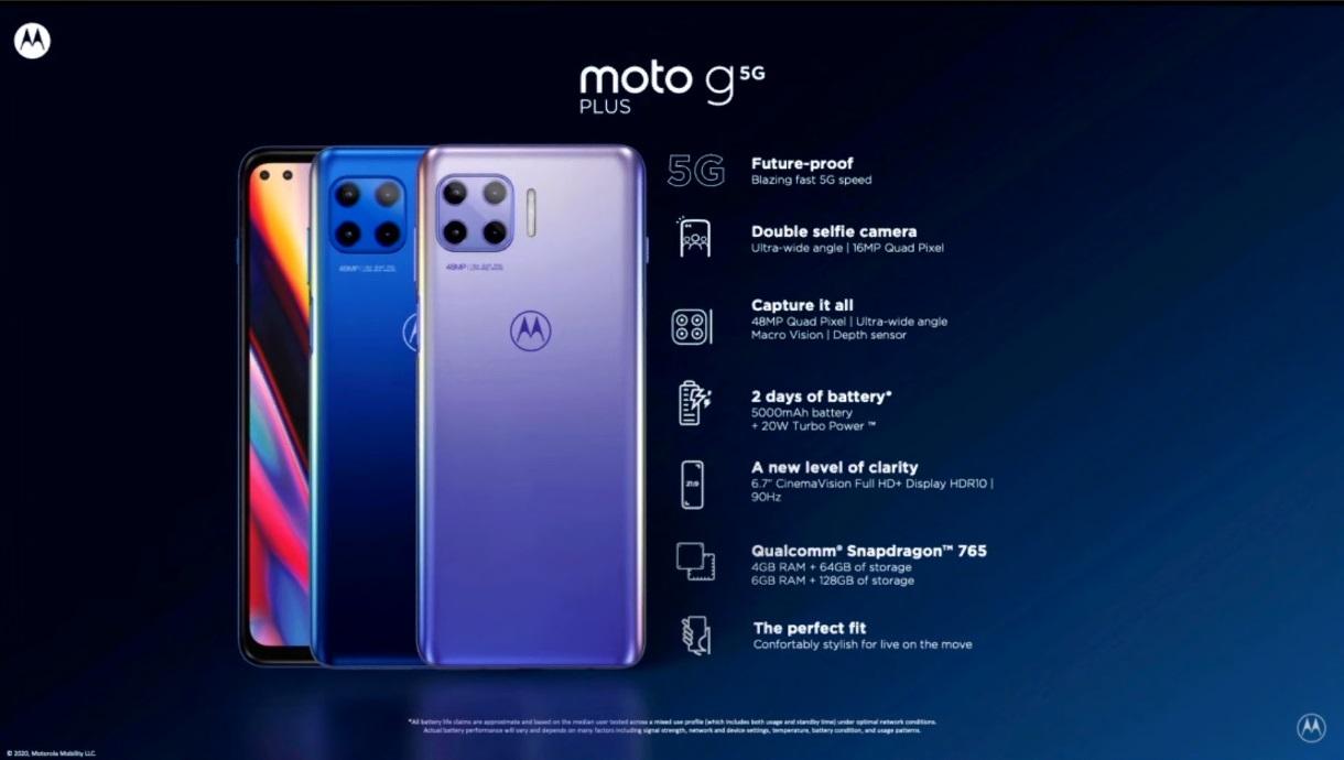 Motorola Moto G 5G Plus ju¿ dostêpna w Polsce. Specyfikacja, cena