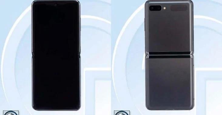 Wyciek³y rendery Samsung Galaxy Z Flip 5G