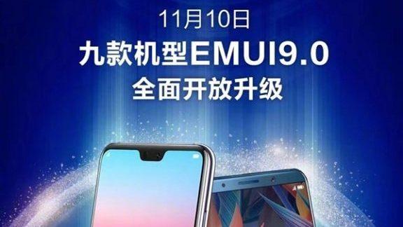 9 modeli Huawei otrzyma aktualizacjê EMUI 9.0 z Androidem 9 Pie.