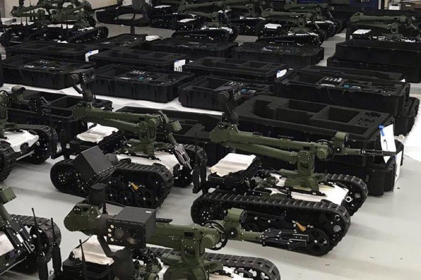 Polska armia wyposa¿ona w roboty do usuwania niebezpiecznych obiektów