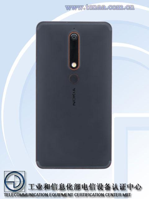 Nokia 6 (2018) pojawi³a siê na TENAA
