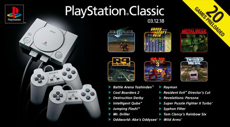 Playstation classic nowe ¿ycie kultowej konsoli.