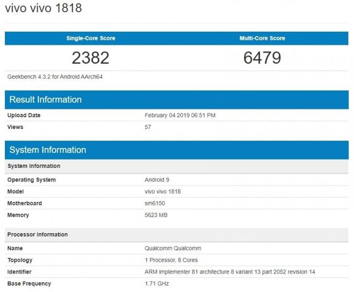 Vivo V15 PRO to pierwszy smartfon z procesorem Snapdragon 675