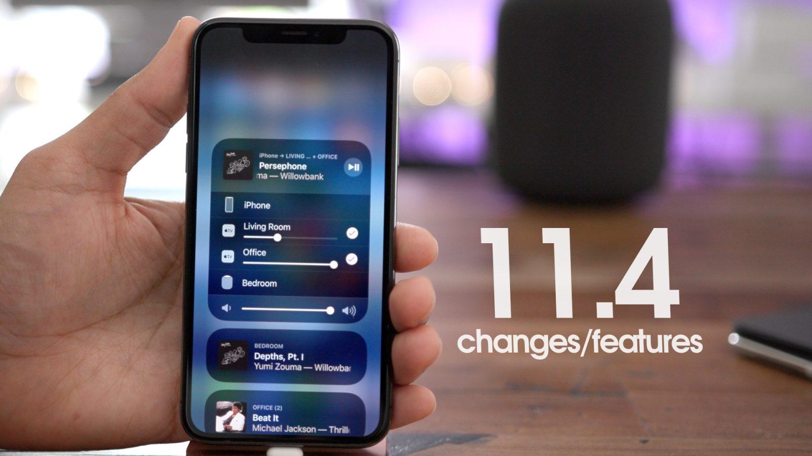Beta wersja systemu iOS 11.4 jest ju¿ dostêpna