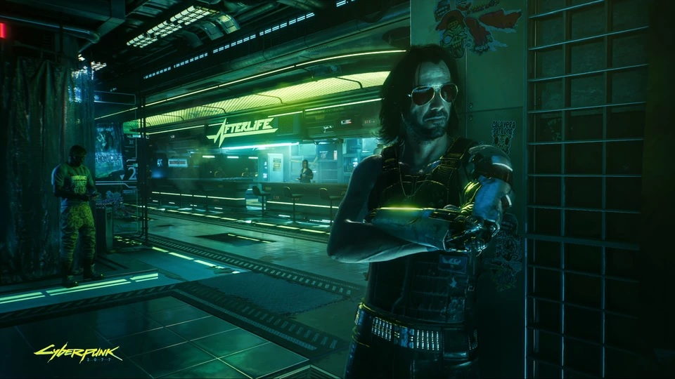Cyberpunk 2077 na nowych zrzutach ekranu. Interfejs, lokacje i postacie