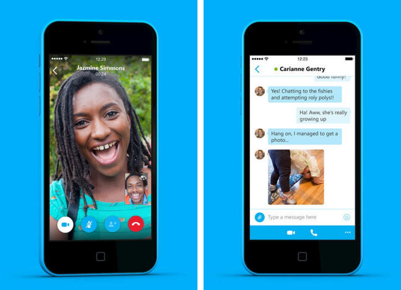 Urz±dzenia iPhone i iPad pozwalaj± teraz na nagrywanie rozmów Skype