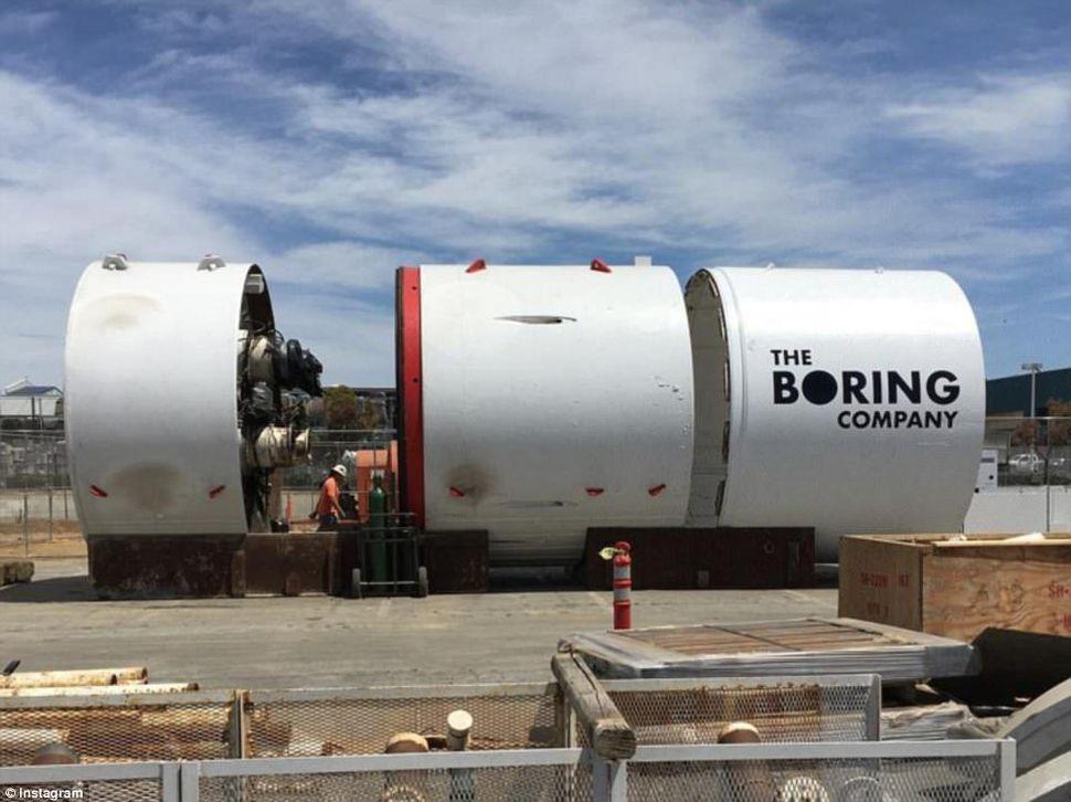 Boring Company Elona Muska jednak nie wybuduje tunelu pod Los Angeles